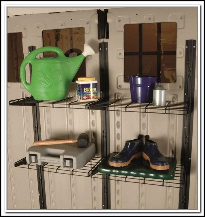Suncast Storage Shed Accessories