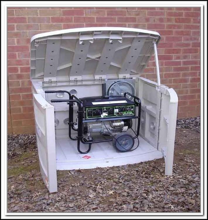 Suncast Storage Shed For Generator