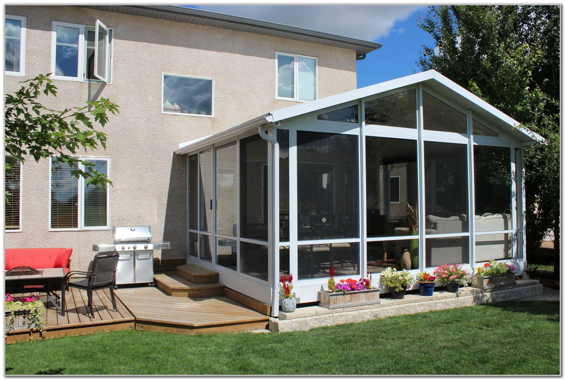 Sunroom And Patio Designs