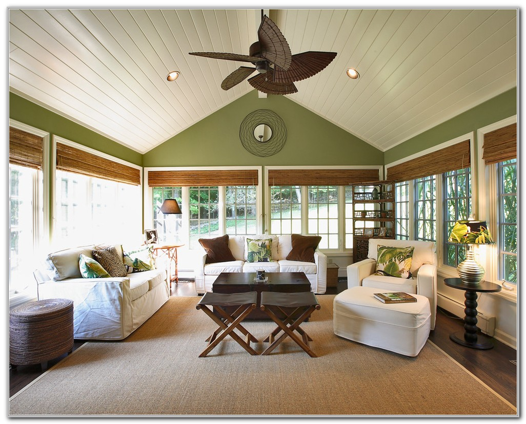 Sunroom Ceiling Fan Ideas