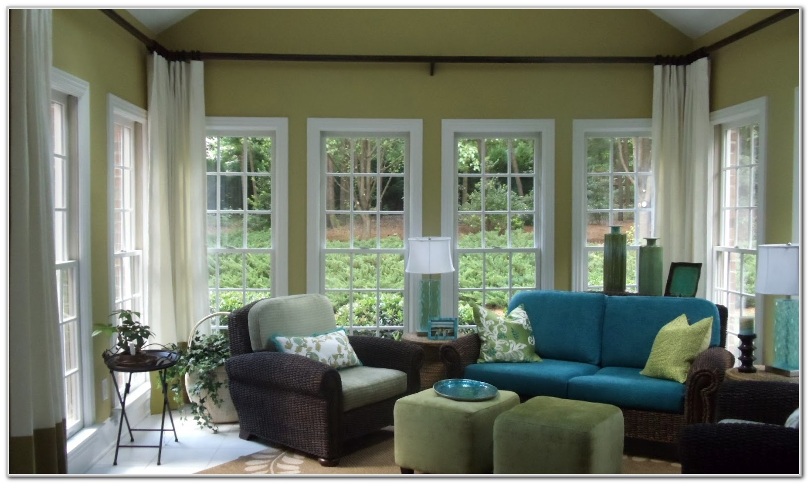 Sunroom Decorating Ideas Window Treatments