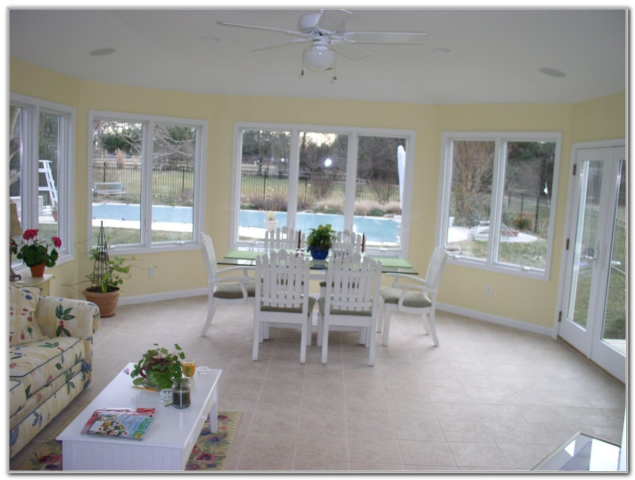 Sunroom Used As Dining Room