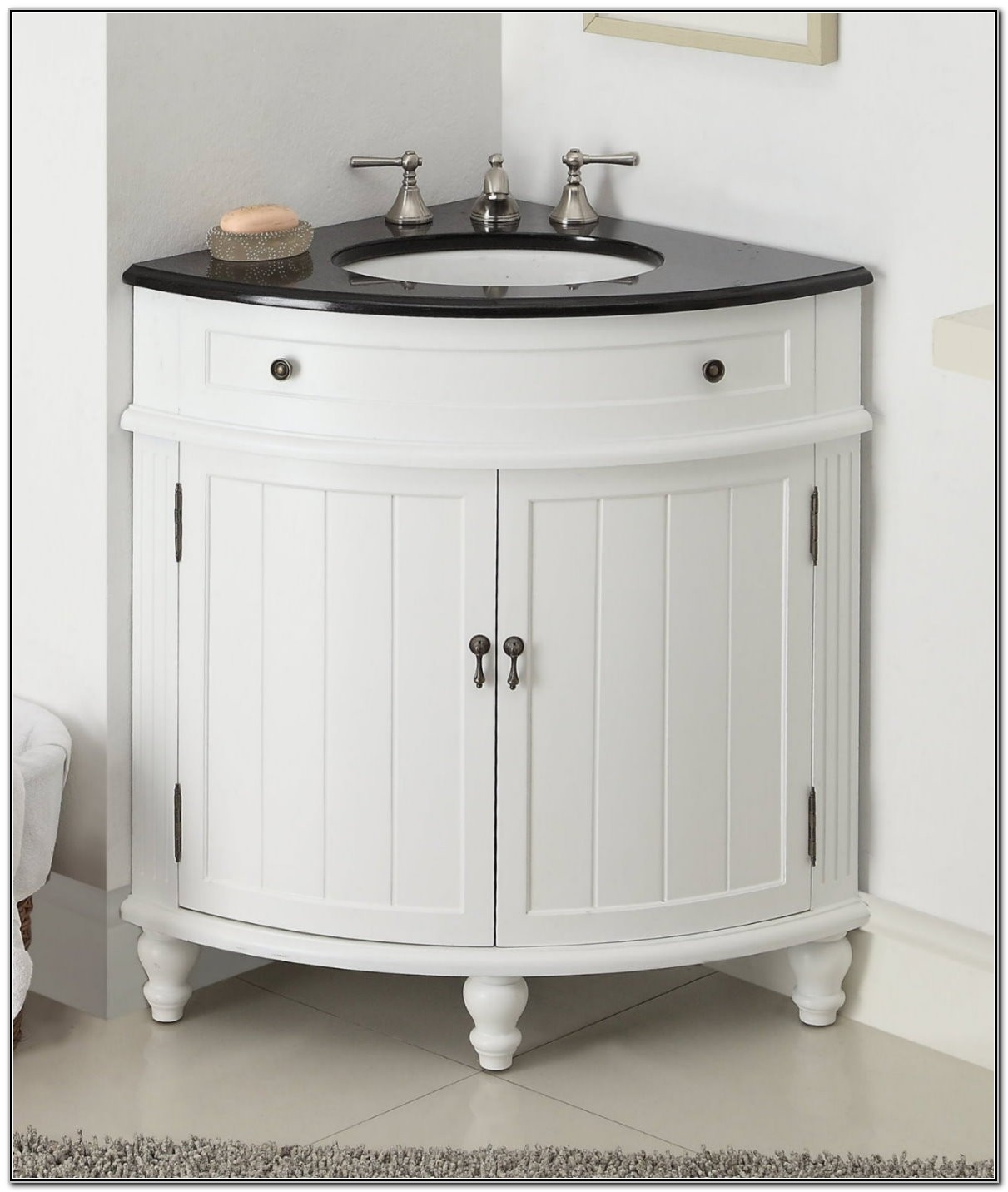 Thomasville Corner Sink Bathroom Vanity