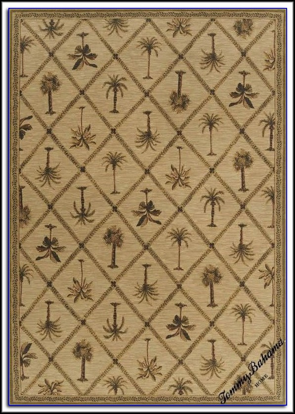 Tommy Bahama Palm Tree Rug