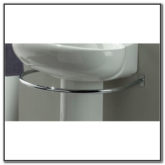 Towel Bar For Pedestal Sink