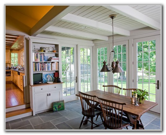 Turning Sunroom Into Dining Room