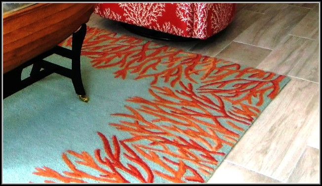 Turquoise And Coral Area Rugs