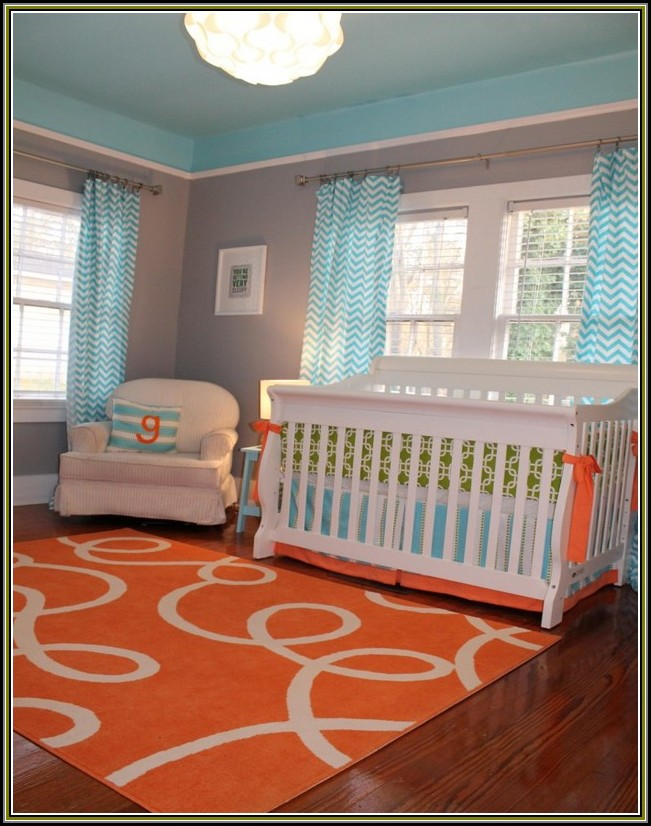 Turquoise And Orange Area Rugs