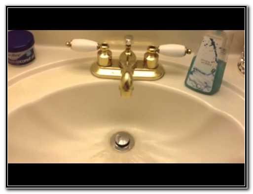 Unclog Bathroom Sink Drain Bleach