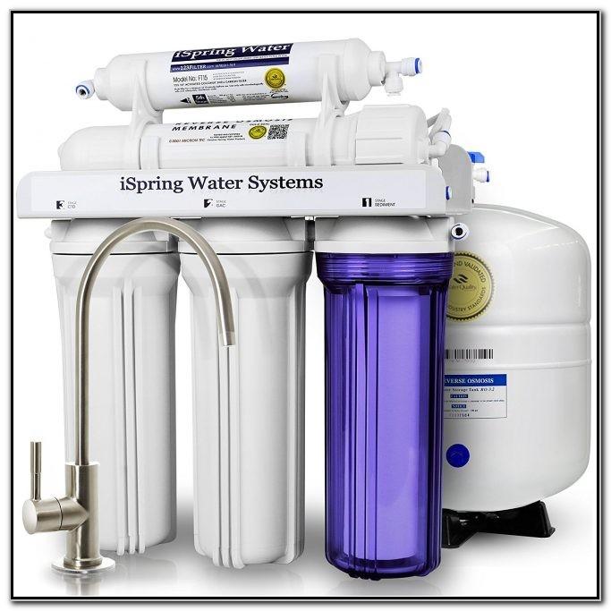 Under Sink Reverse Osmosis Filter System