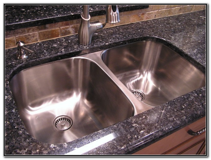Undermount Double Kitchen Sink