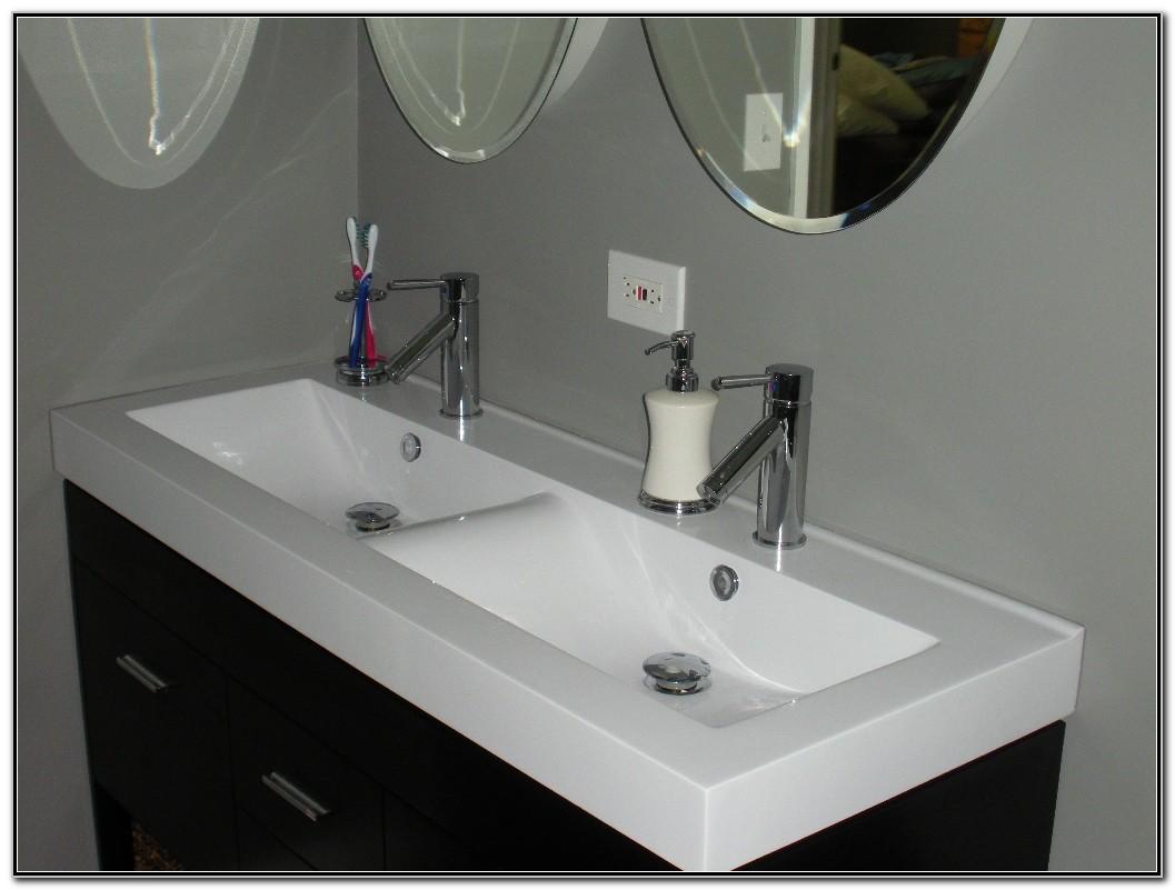 Undermount Trough Sink For Bathroom
