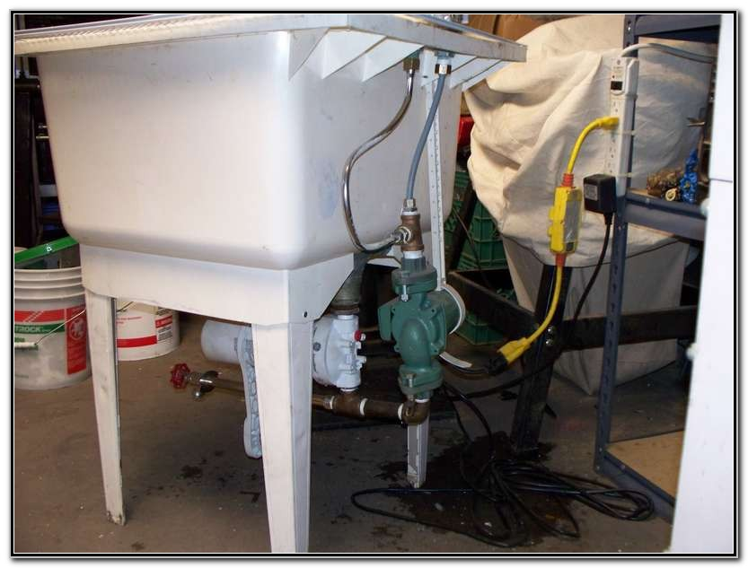 Utility Sink With Pump