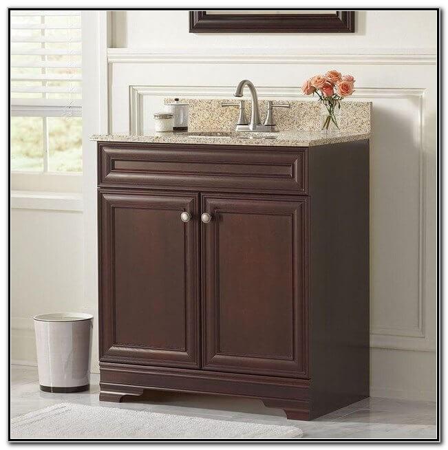 Vanity With Vessel Sink Home Depot