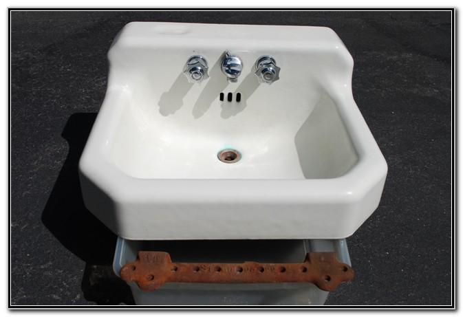 Vintage American Standard Cast Iron Sink