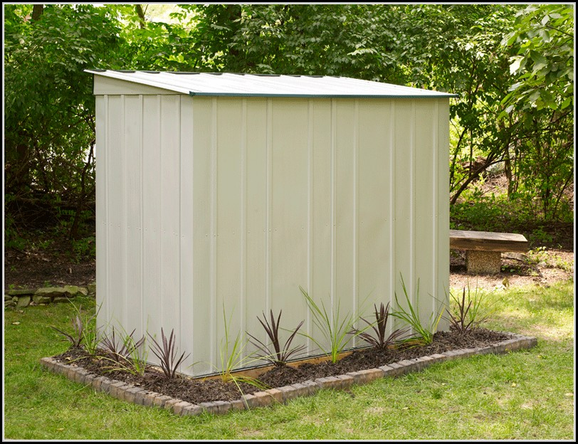Vinyl Lean To Storage Sheds