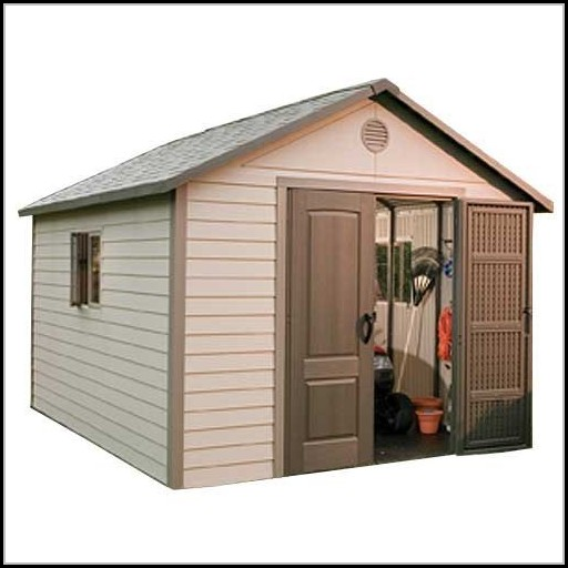 Vinyl Outdoor Storage Shed