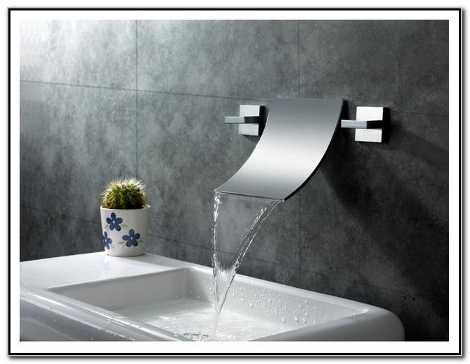 Wall Mount Bathroom Sink Faucets