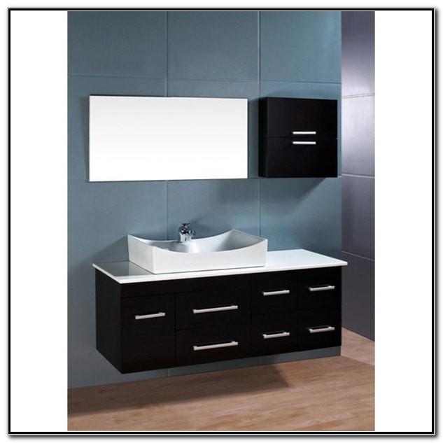 Wall Mount Bathroom Vanity Set