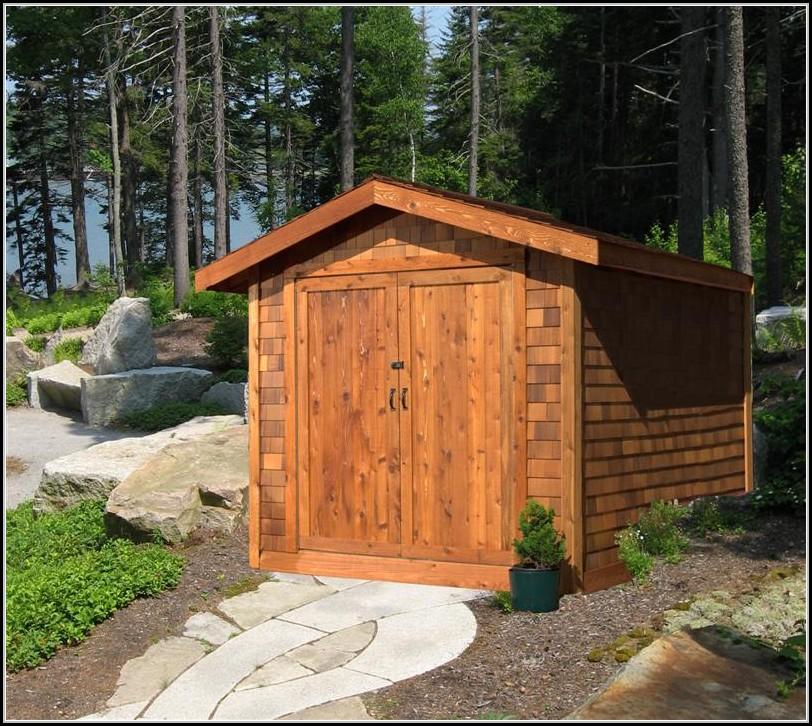 Western Red Cedar Shed Kits