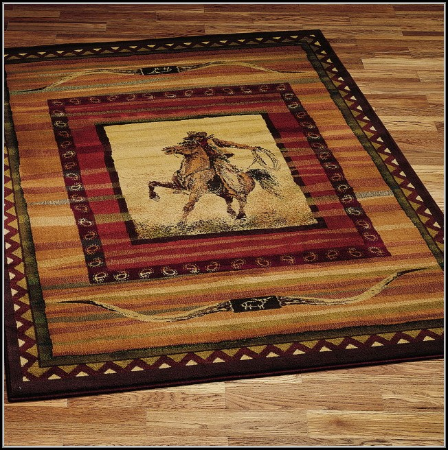 Western Style Area Rugs