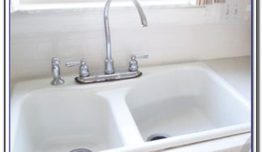 White Faucets For Kitchen Sinks