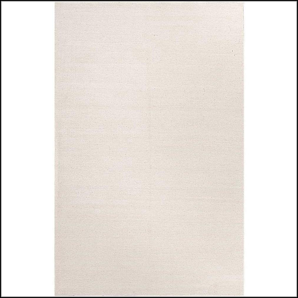 White Flat Weave Rug
