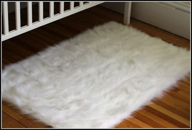 White Furry Rug Walmart