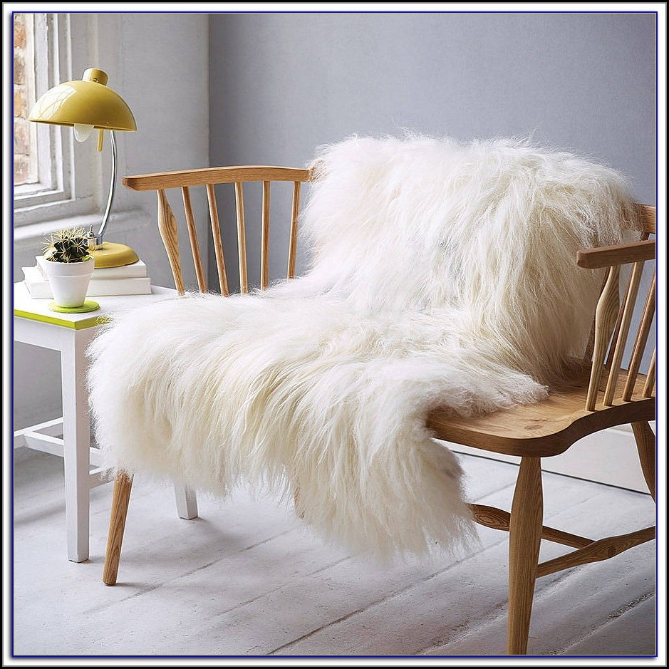 White Sheepskin Rug Canada