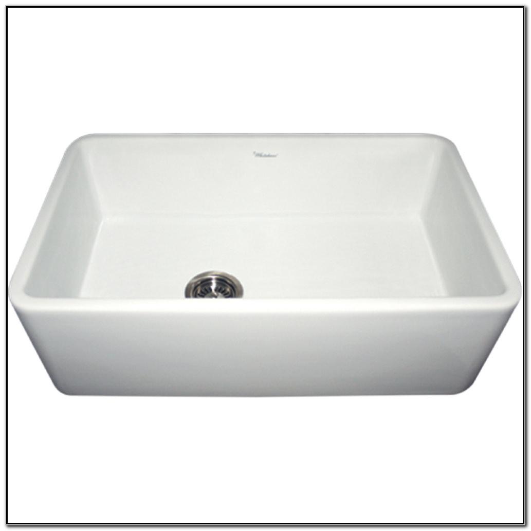 Whitehaus Fireclay Apron Front Sinks