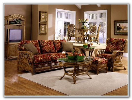Wicker Sunroom Furniture Sets