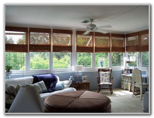 Window Treatment For Small Sunroom