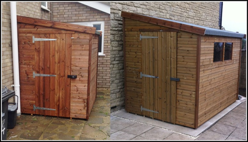 Wooden Lean To Sheds