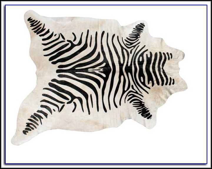 Zebra Print Rug Australia