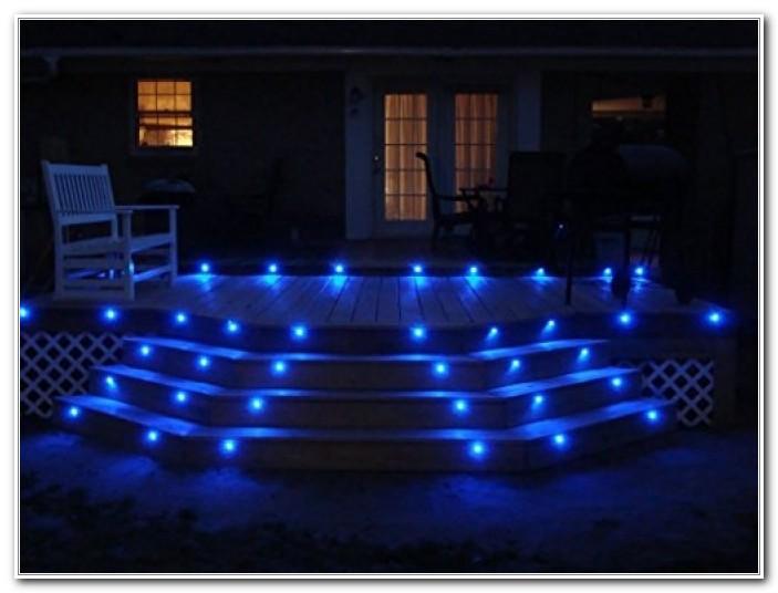 10 Blue Led Deck Lights