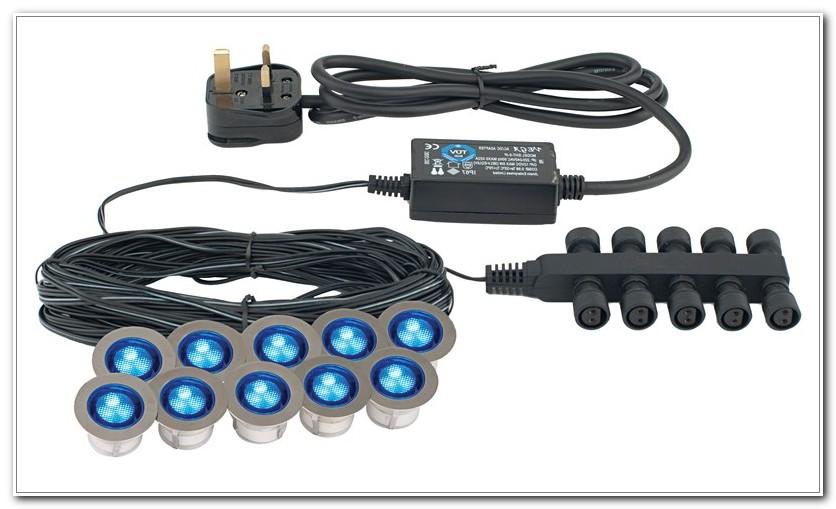 30mm Blue Led Deck Lights