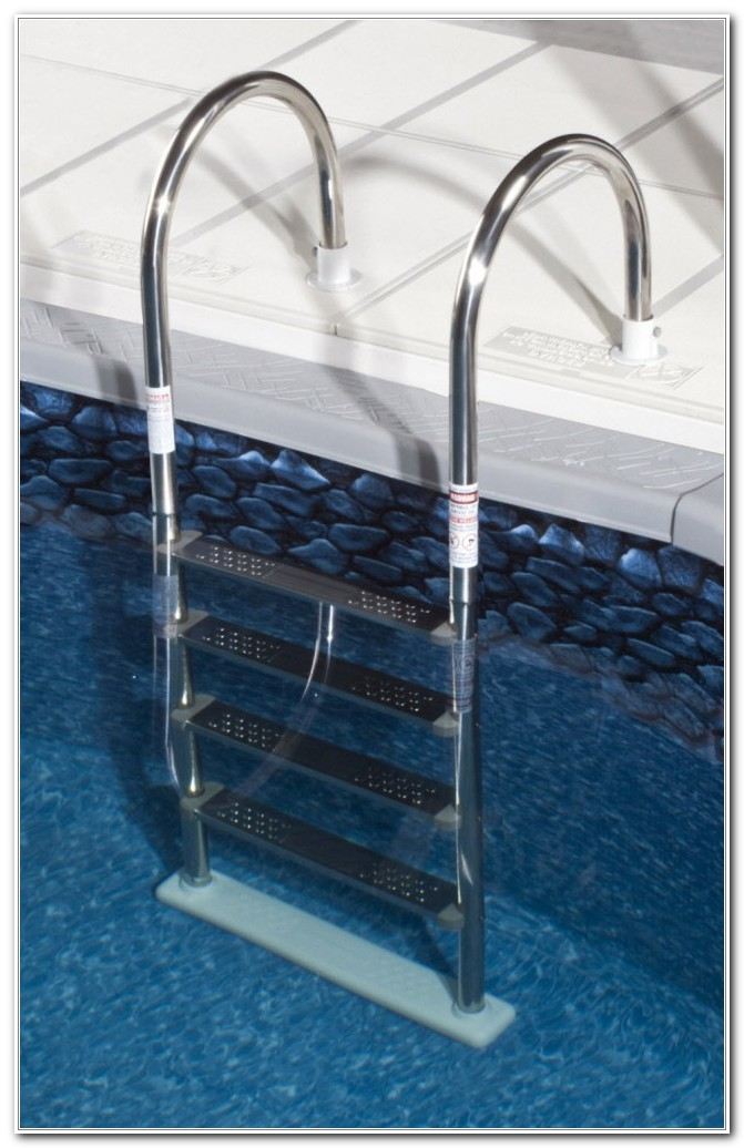 Above Ground Swimming Pool Deck Ladder