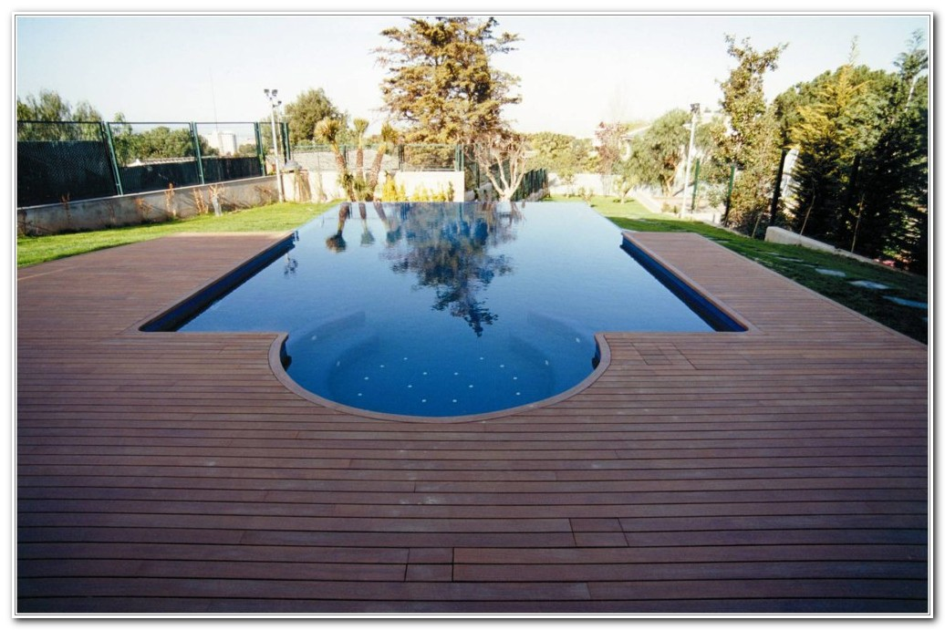 Above Ground Swimming Pools With Decks Pictures