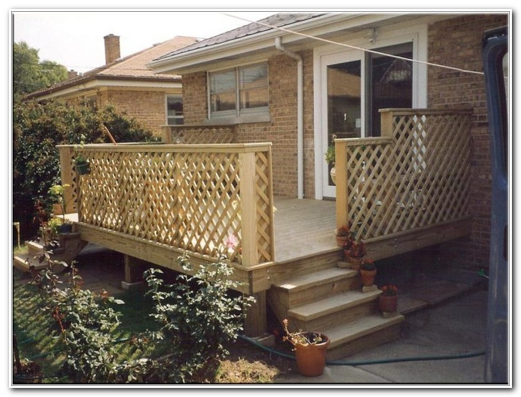 Back Porch Deck Ideas