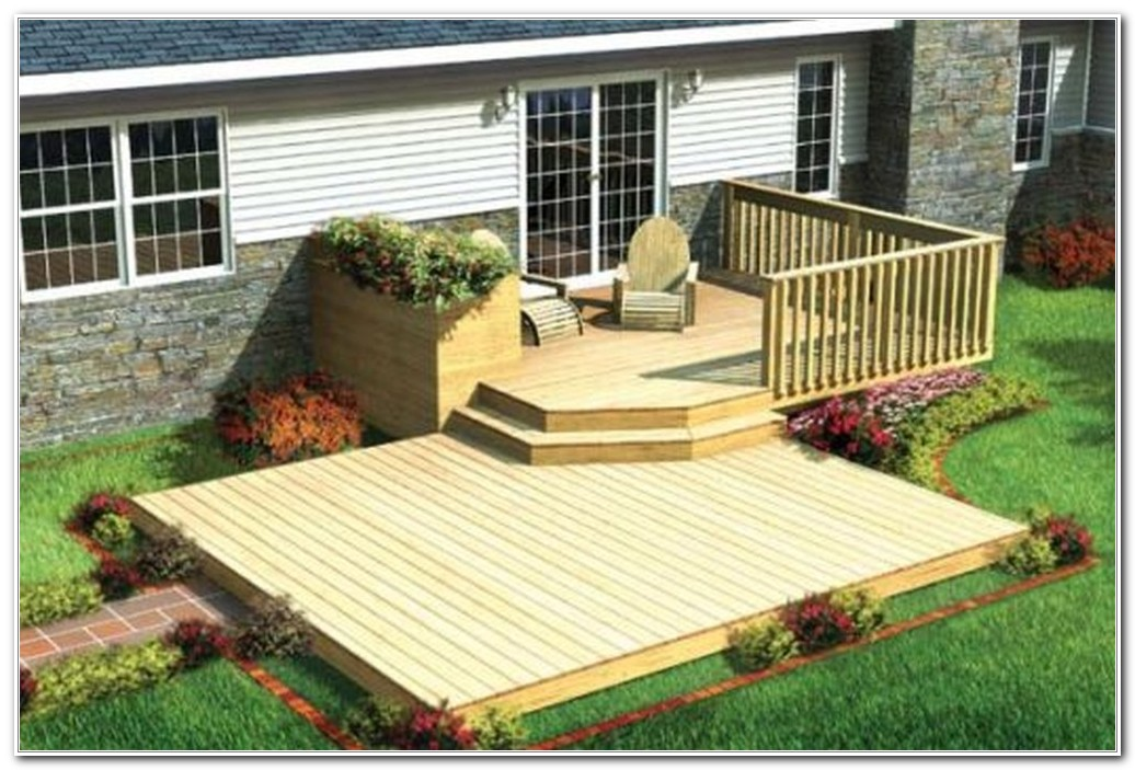 Backyard Deck Ideas For Small Yards
