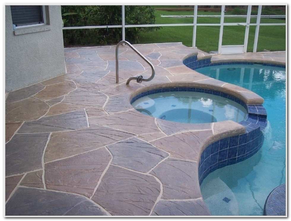 Best Concrete Pool Deck Paint