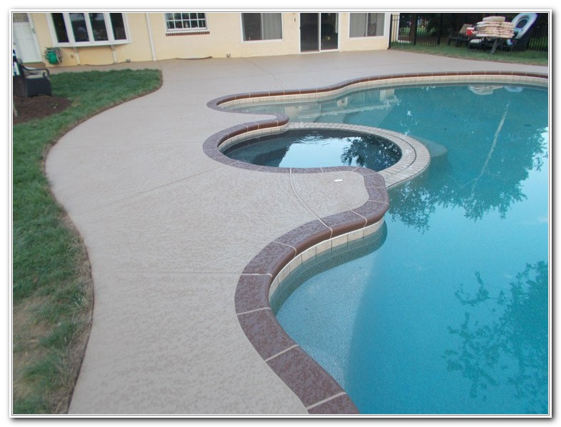 Best Paint Concrete Pool Deck