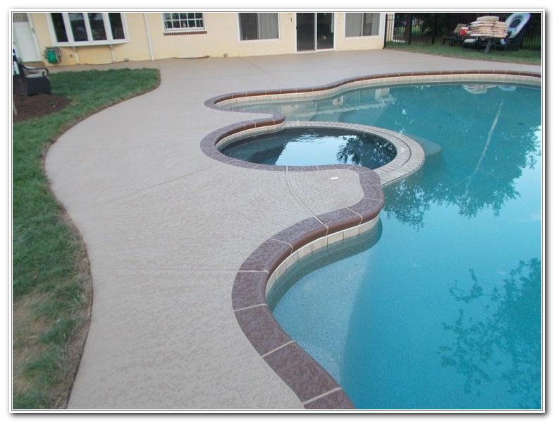 Best Paint Concrete Pool Deck