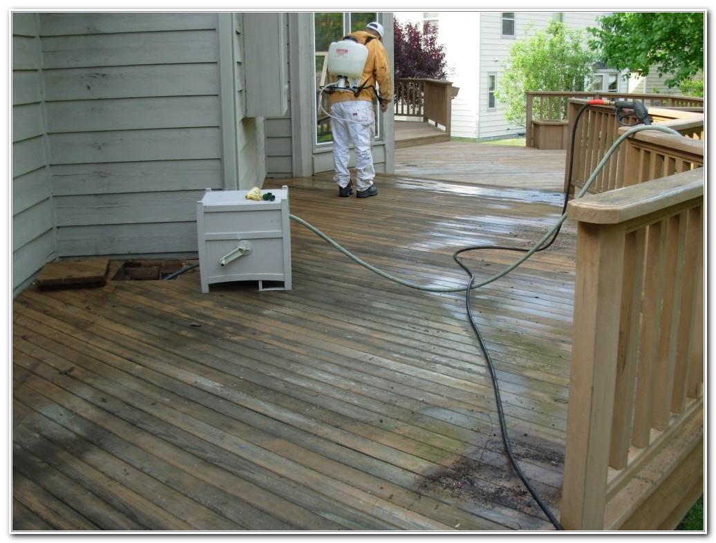 Best Wood Deck Resurfacing