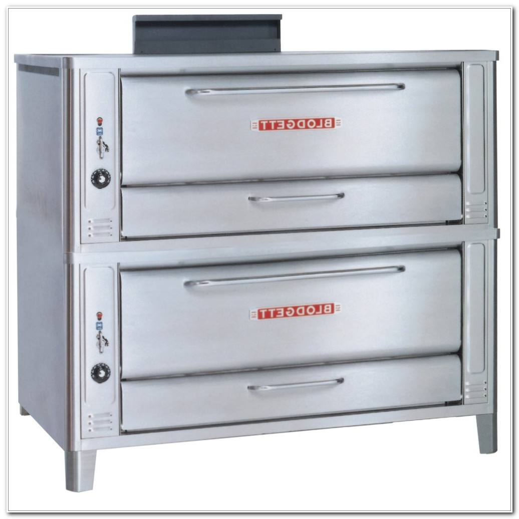 Blodgett Double Deck Pizza Oven