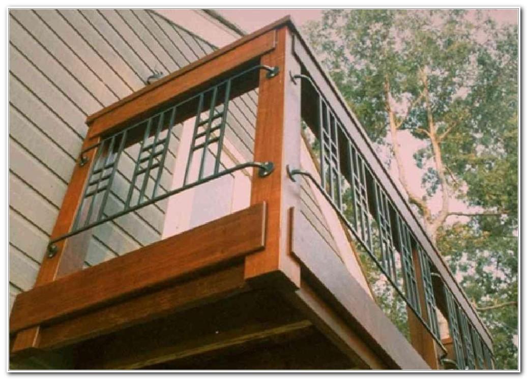 Build A Wood Deck Railing