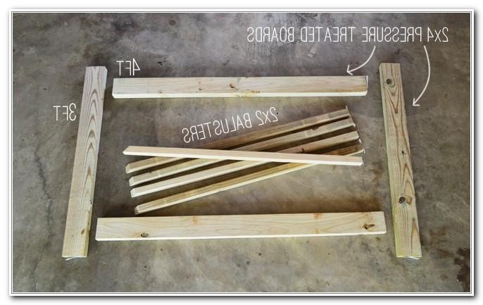 Build A Wooden Deck Gate