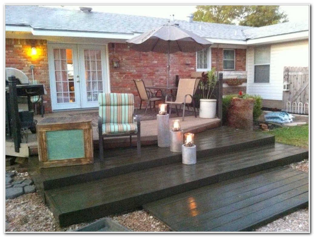 Build A Wooden Deck