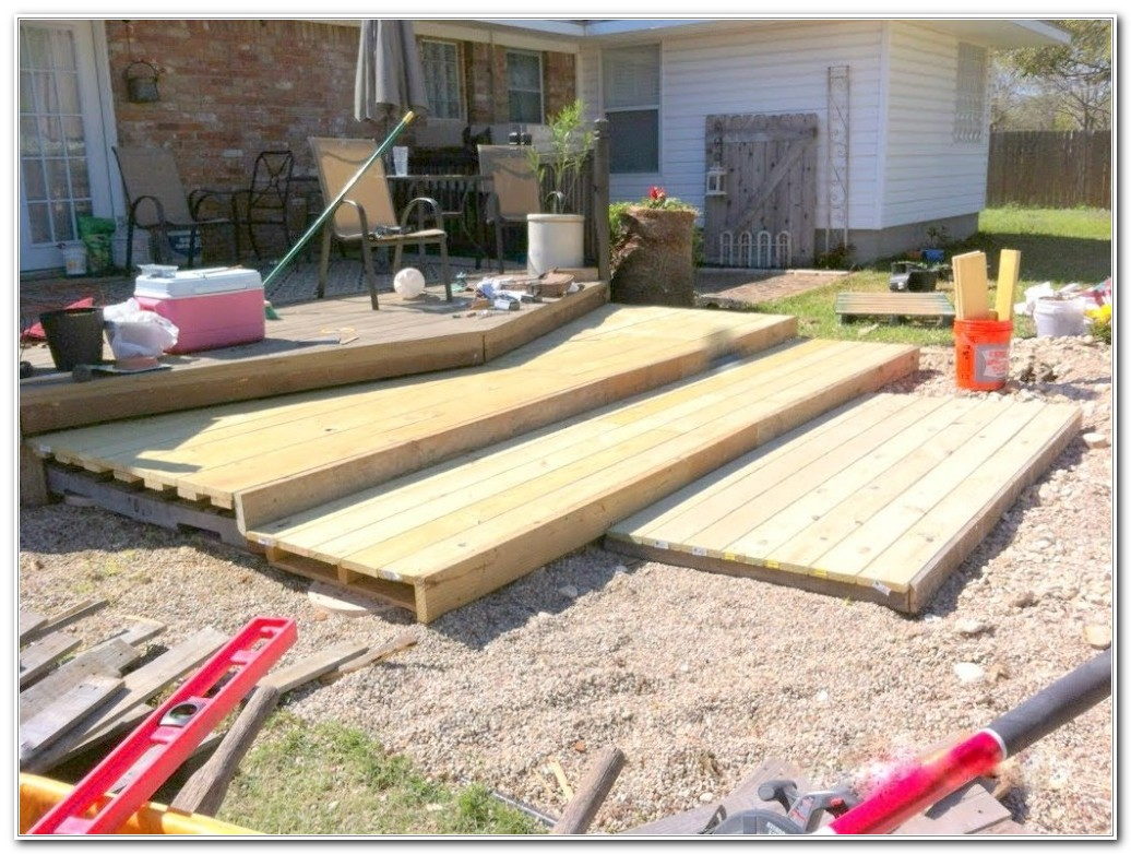 Build A Wooden Patio Deck