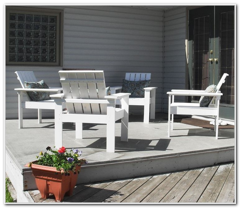 Build Your Own Yard Furniture
